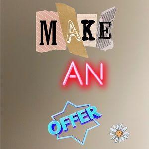 Make an offer :)